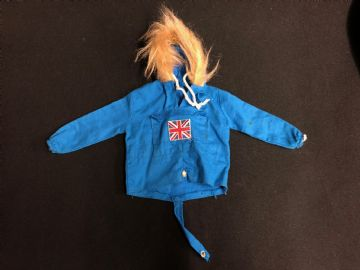 VINTAGE ACTION MAN - BLUE POLAR EXPLORER ANORAK  (ref3)